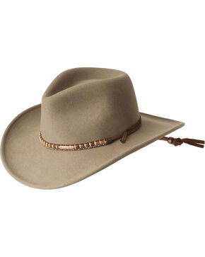 Wind River by Bailey Columbia Outback Hat, Putty, hi-res