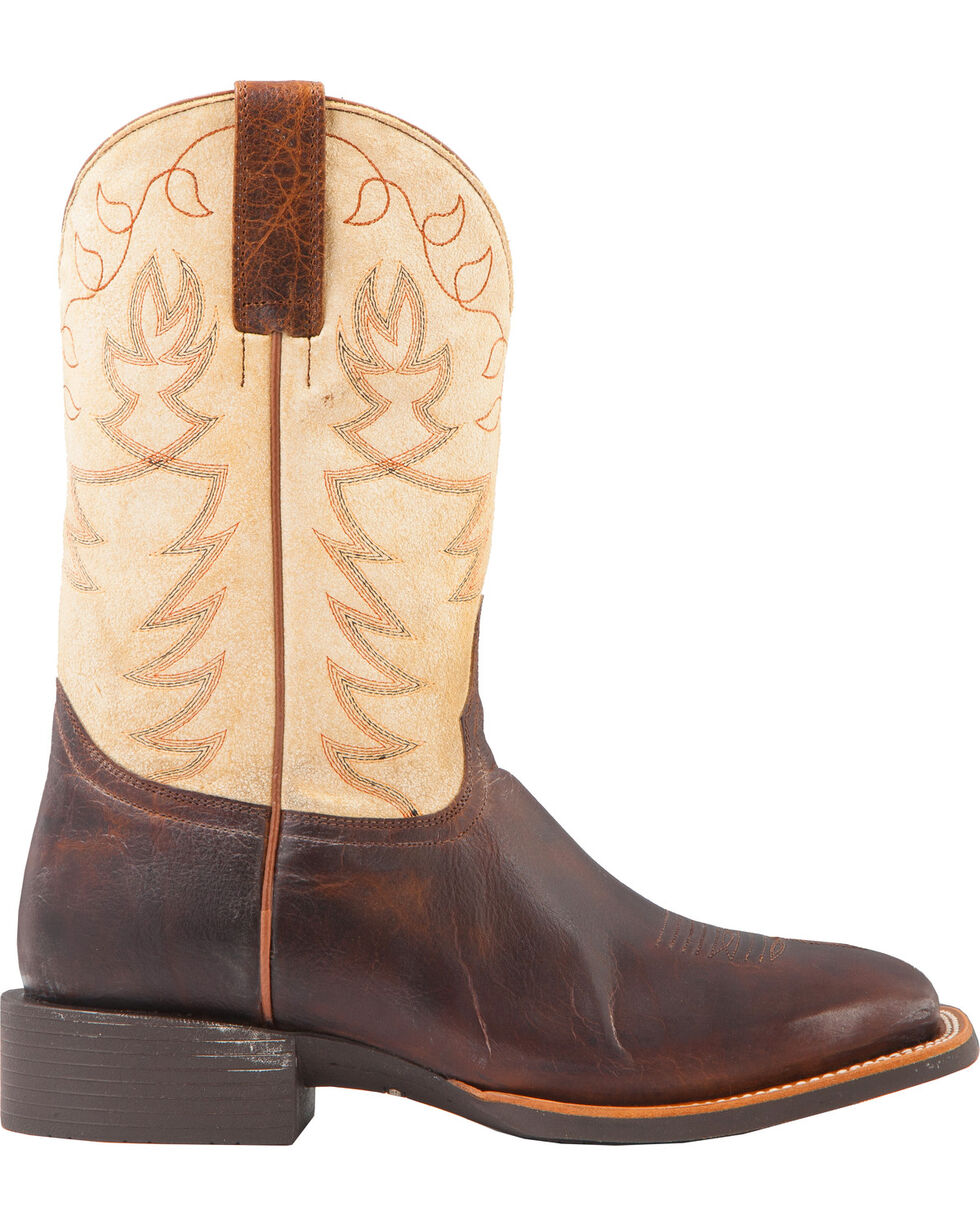 Cody James Men's Xero Gravity Embroidered Montana Performance Boots - Square Toe, Brown, hi-res