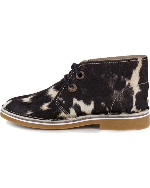 Uwezo Women's Cowhide Desert Boot, Multi, hi-res