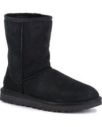 UGG Women's Black Classic II Short Boots, , hi-res