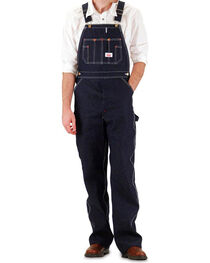 Round House Men's Blue Overalls - Big , , hi-res