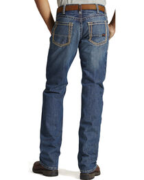 Ariat Men's Fire-Resistant M4 Clay Low-Rise Bootcut Work Jeans, , hi-res