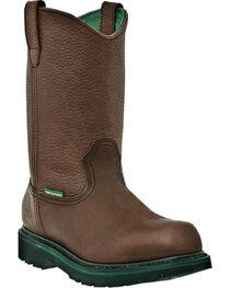 John Deere® Men's Steel Toe Waterproof Wellington Work Boots, , hi-res
