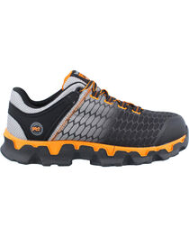 Timberland Pro Men's Powertrain Lace Up Alloy Safety Toe Work Shoes, Grey, hi-res