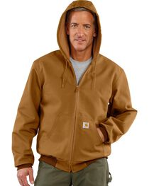 Carhartt Thermal Lined Canvas Hooded Jacket, , hi-res