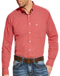 Ariat Men's Batson Print Western Long Sleeve Shirt , , hi-res