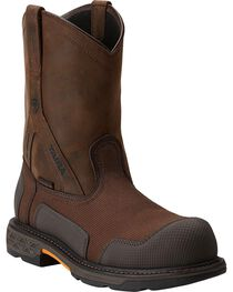 Ariat Men's Overdrive® XTR Pull-On H2O CT Work Boots, , hi-res