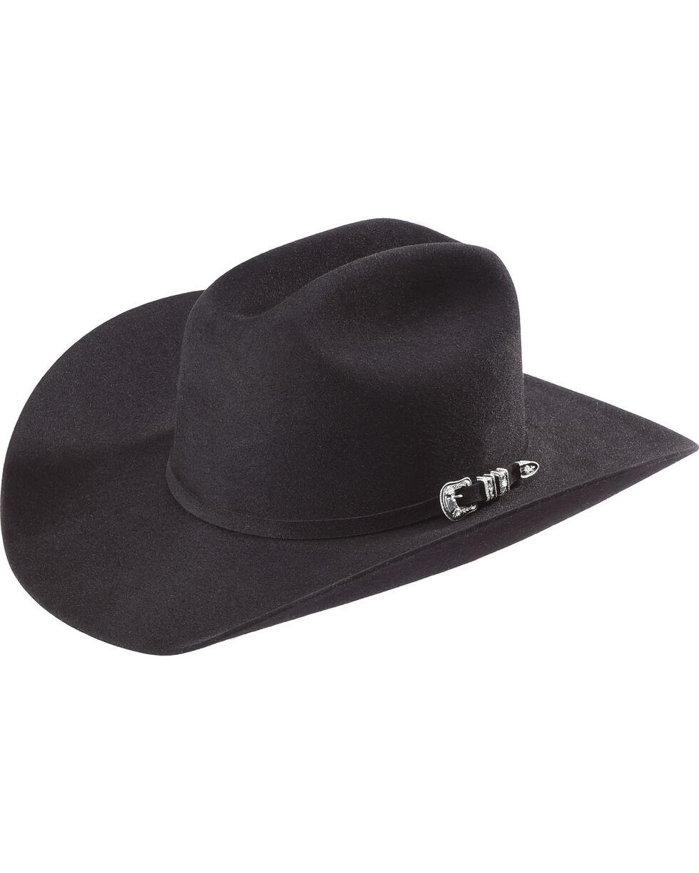 Justin 20X Classic Black Cowboy Hat, Black, hi-res