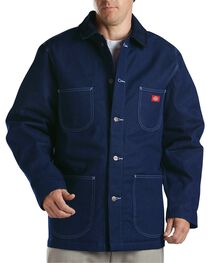 Dickies Blanket Lined Denim Chore Coat - Big & Tall, , hi-res