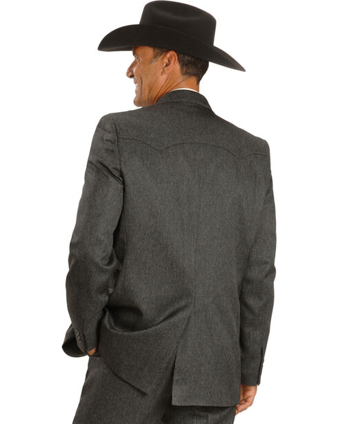 Circle S Lubbock Suit Coat - Big and Tall, Hthr Chrcl, hi-res