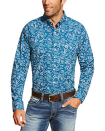 Ariat Men's Printed Long Sleeve Shirt, , hi-res