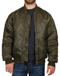 American Worker® Men's Zippered Jacket, , hi-res