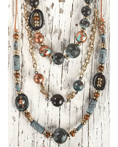 Shyanne Women's Beaded Layered Jewelry Set, , hi-res
