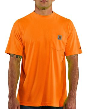 Carhartt Force Color-Enhanced T-Shirt, Orange, hi-res