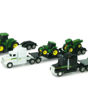 John Deere Kid's Hauler Semi & Tractors Toy, No Color, hi-res