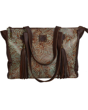 STS Ranchwear The Darling II Turquoise Conceal Carry Purse , Turquoise, hi-res