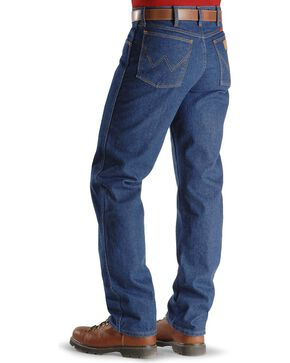 Wrangler Men's Relaxed Flame Resistant Jeans, Denim, hi-res