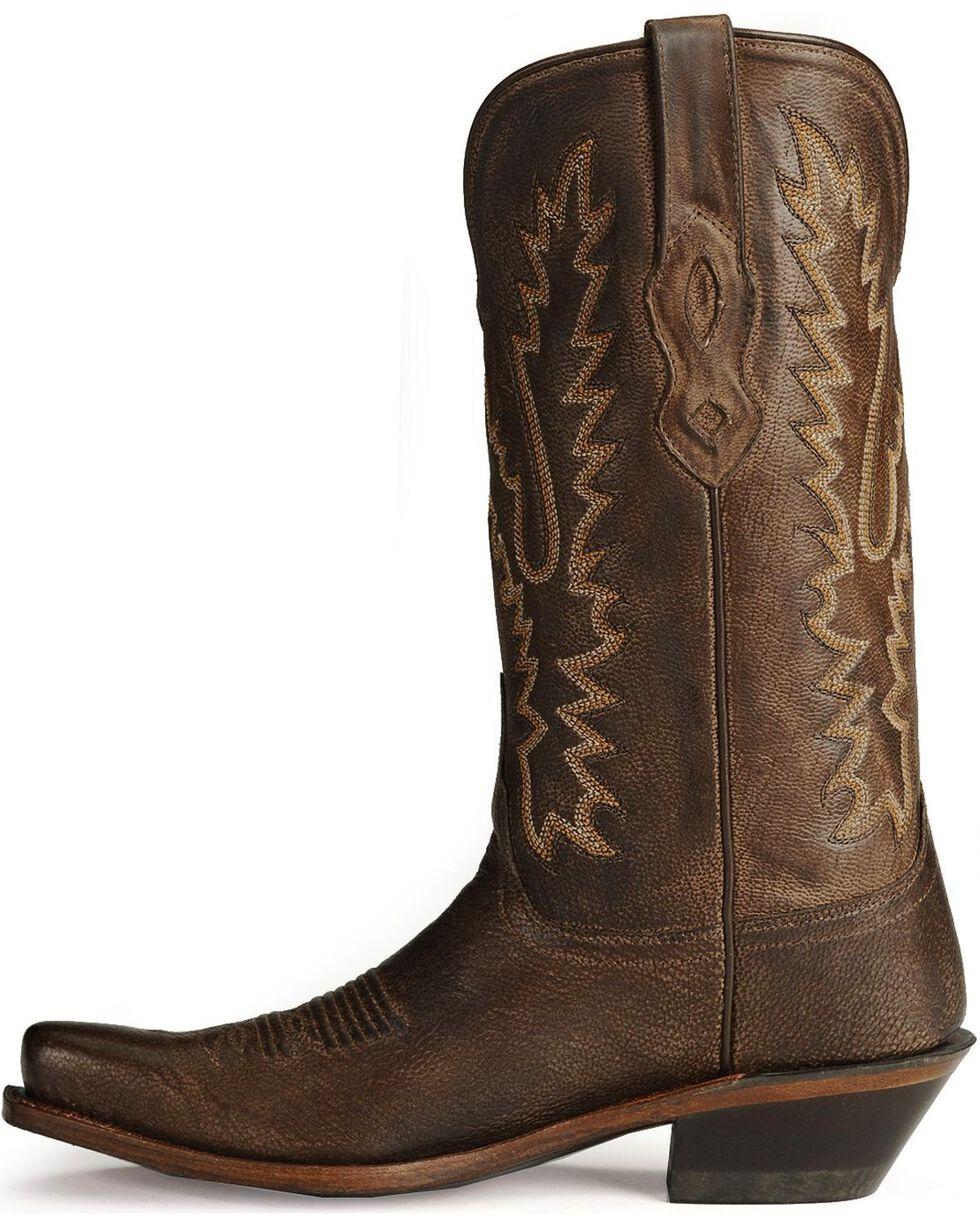 Old West Women's Fashion Western Boots, Dark Brown, hi-res