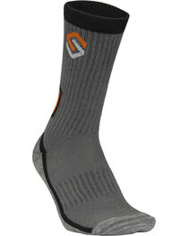 Scentlok Technologies Men's Charcoal Elite Sport Crew Socks, , hi-res