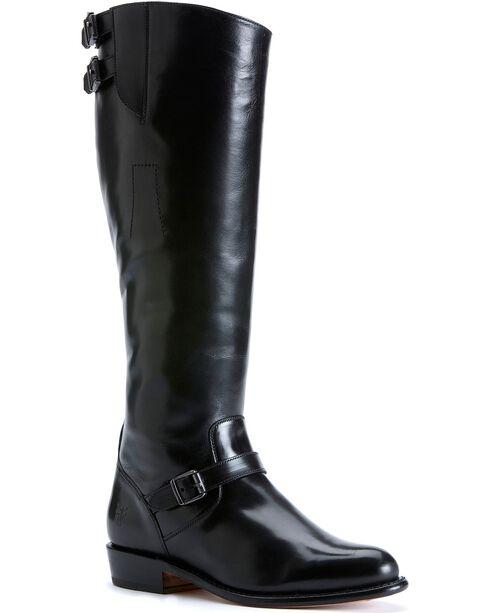 Frye Women's Dorado Buckle Riding Boots, Black, hi-res
