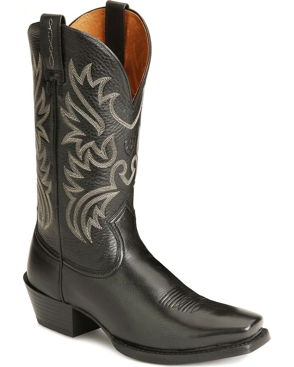 Ariat Men's Legend Western Boots, Black, hi-res