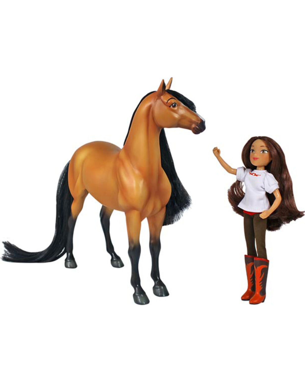 Breyer Spirit and Lucky Toy Set, No Color, hi-res