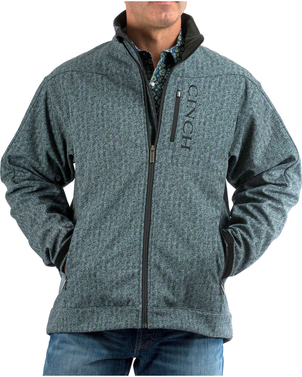 Cinch Men's Print Bonded Jacket, , hi-res
