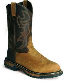"Rocky Men's Branson Roper 11"" Western Boots, , hi-res"