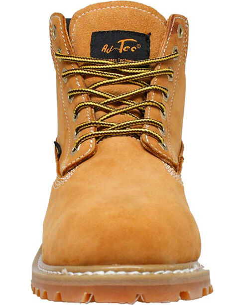 "Ad Tec Boy's 6"" Waterproof Nubuck Leather Work Boots, Tan, hi-res"