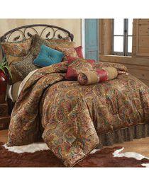 HiEnd Accents San Angelo Leopard Print Queen Size 4 Piece Comforter Set, , hi-res