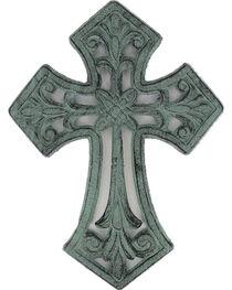 BB Ranch® Cast Iron Antique Cross Wall Decor , , hi-res