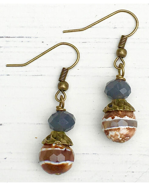 InspireDesigns Women's Double Stack Earrings , Multi, hi-res
