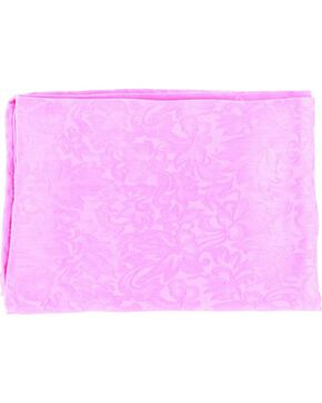 M&F Floral Silk Wild Rag, Hot Pink, hi-res