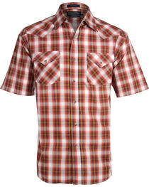 Pendleton Men's Plaid Short Sleeve Western Shirt, , hi-res