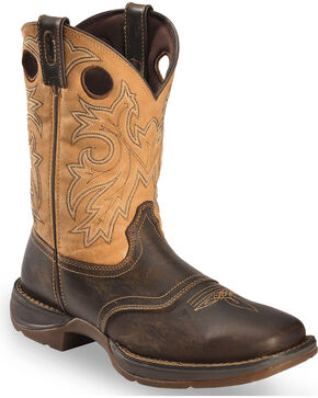 Durango Men's Rebel Western Boots, Brown, hi-res