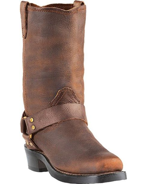 Dingo Men's Dean Motorcycle Boots, Gaucho, hi-res