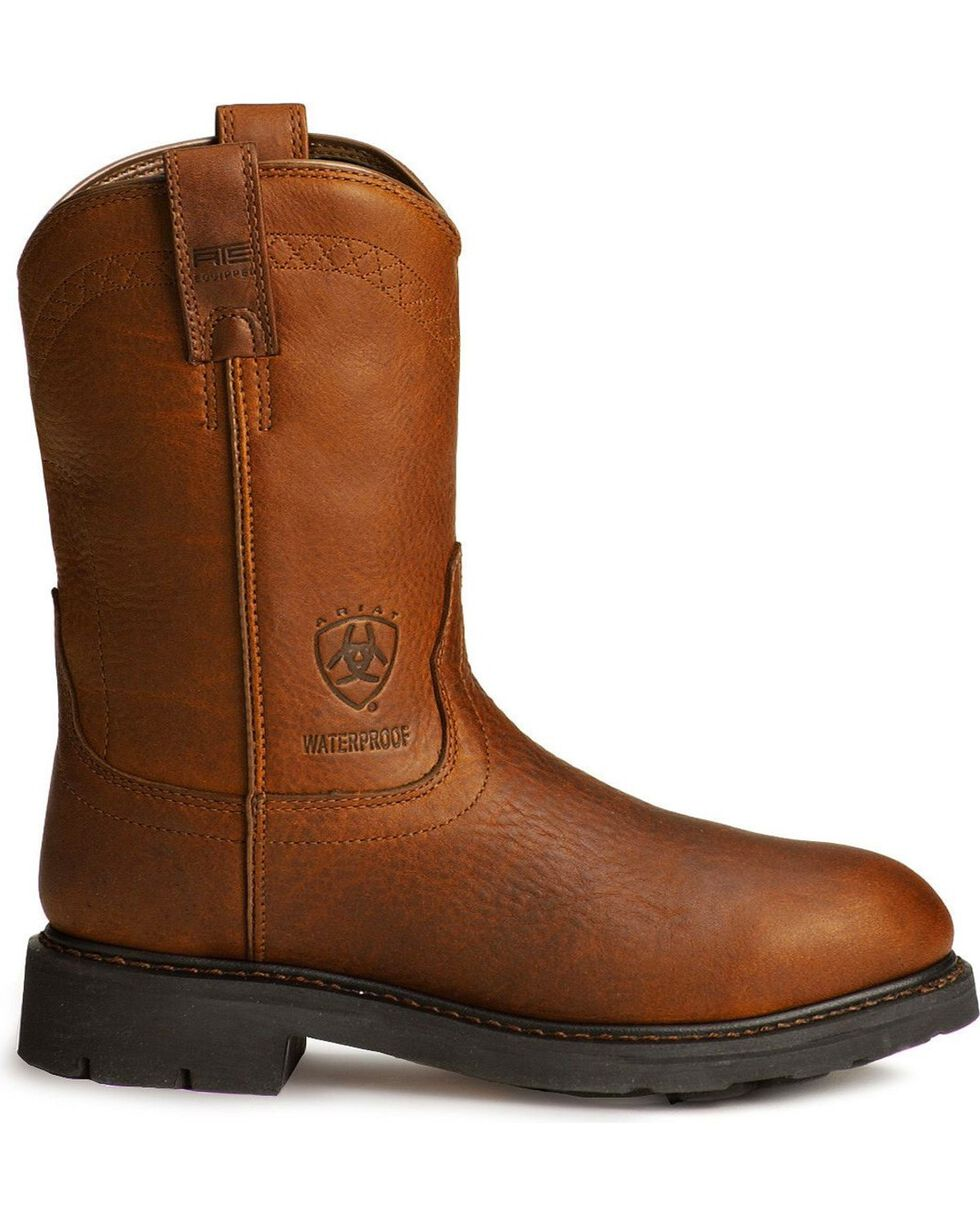 Ariat Men's Sierra Work Boots, Sunshine, hi-res