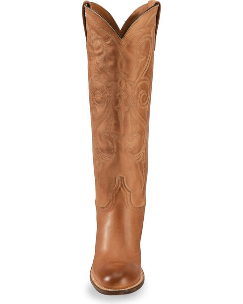"Lucchese Women's 17"" Vanessa Western Boots, Tan, hi-res"