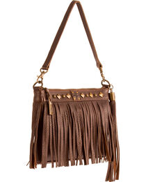 STS Ranchwear Chocolate Dixie Clutch, , hi-res