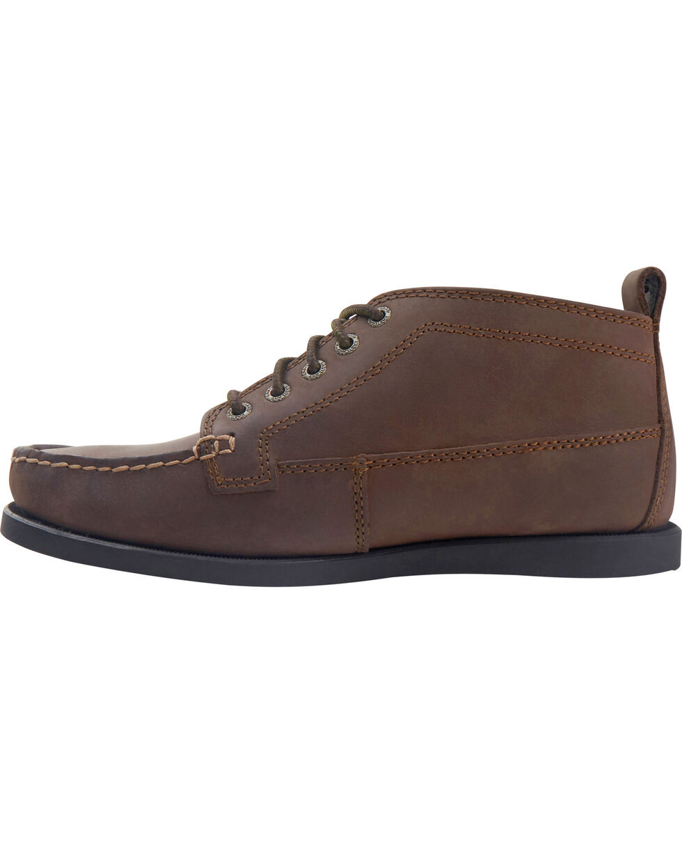 Eastland Women's Bomber Brown Seneca Camp Moc Chukka Boots, Brown, hi-res
