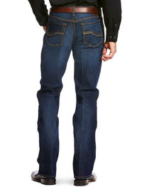 Ariat Men's Blue Relentless Relaxed Jeans - Boot Cut , , hi-res