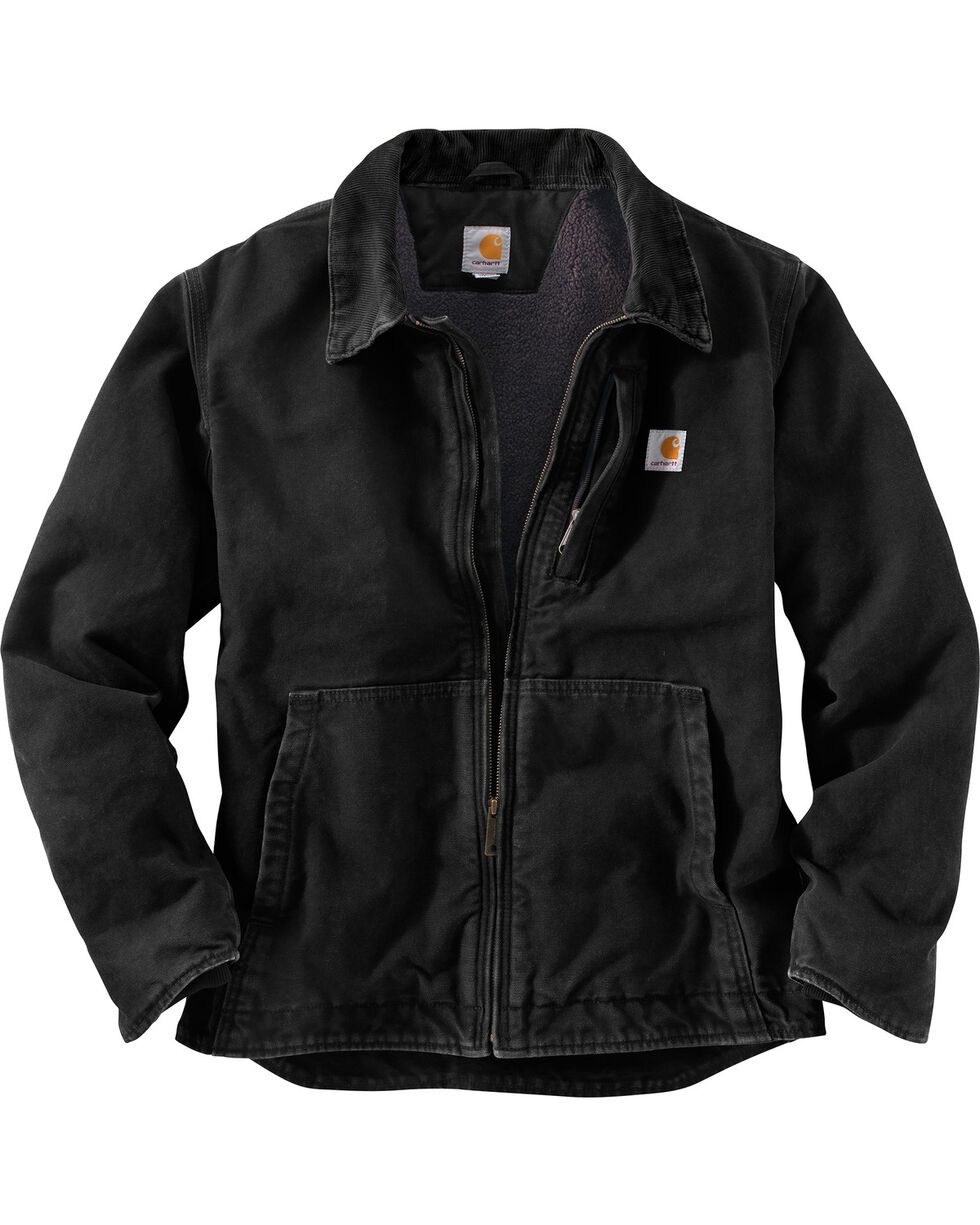 Carhartt Men's Full Swing Armstrong Jacket - Big & Tall, Black, hi-res
