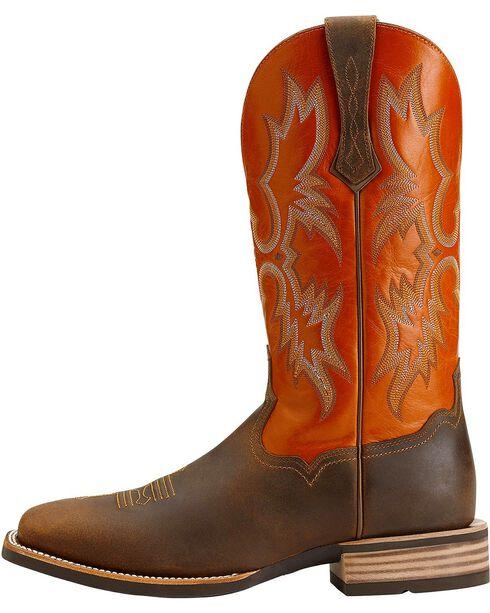 """Ariat Men's 13"""" Tombstone Western Boots, Brown, hi-res"""