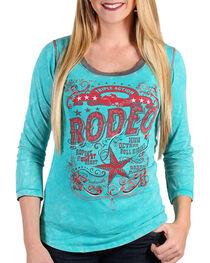 Panhandle Women's Triple Action Rodeo Shirt, , hi-res
