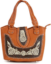 Savana Women's Embroidered Western Shoulder Bag, , hi-res