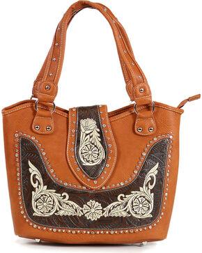 Savana Women's Embroidered Western Shoulder Bag, Multi, hi-res