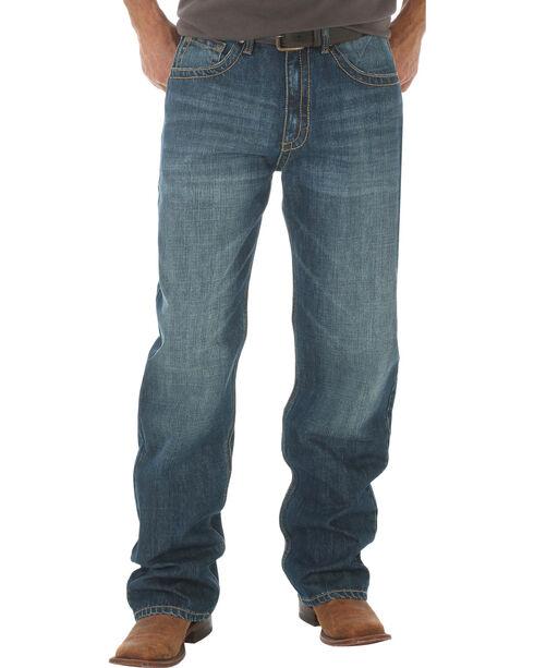 Wrangler 20X® Men's Indigo No.33 Extreme Relaxed Fit Jeans - Straight Leg - Long, Indigo, hi-res