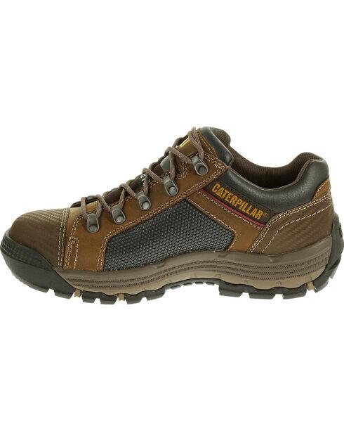 CAT Men's Convex Low Steel Toe Work Shoes, Light Brown, hi-res