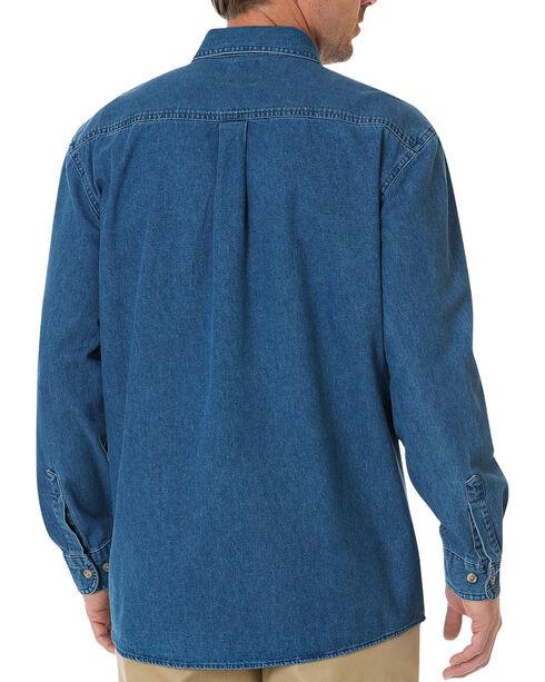 Dickies Stonewash Denim Work Shirt, Stonewash, hi-res