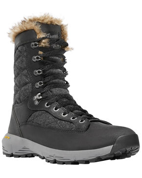 Danner Women's Black Raptor 650 Boots - Round Toe , Dark Blue, hi-res